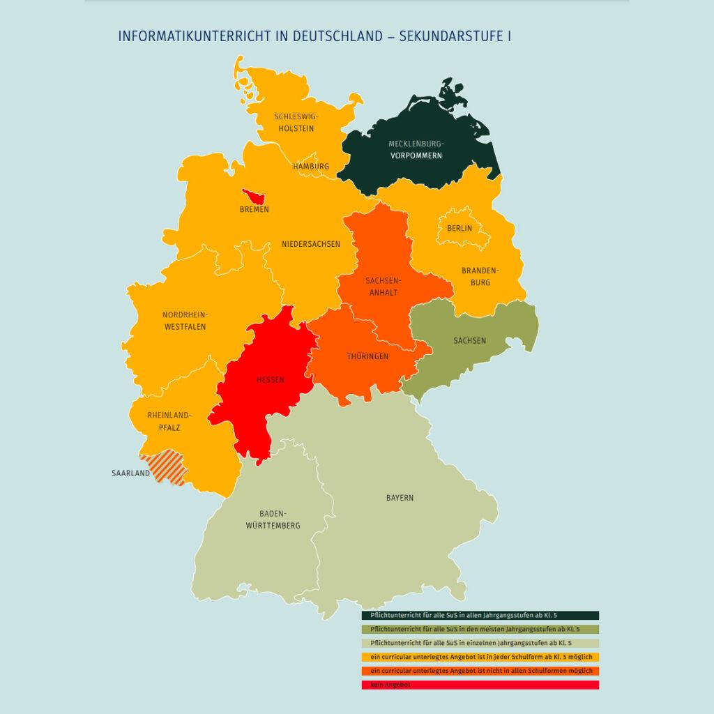 Informatikunterricht in Deutschland